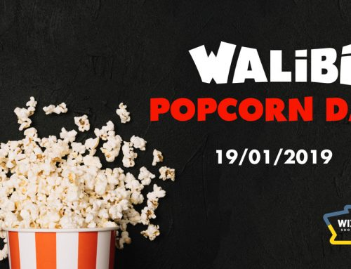 Popcorn invasie in Wijnegem Shopping Center