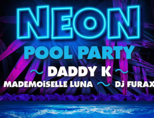 Neon Pool Party à Aqualibi le 29 février